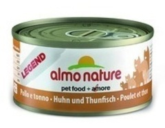 Консервы (банка) Almo Nature Legend Adult Cat Chicken&Tuna