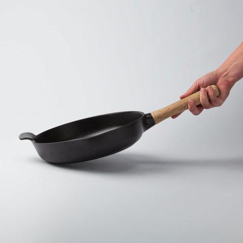 Сковорода чугунная 26см 2,5л (черная) Ron