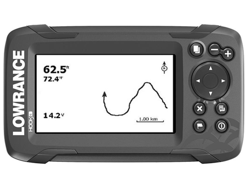 Lowrance Hook2-4x GPS bullet