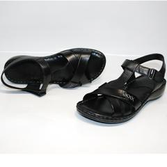 Черные босоножки Evromoda 15 Black.