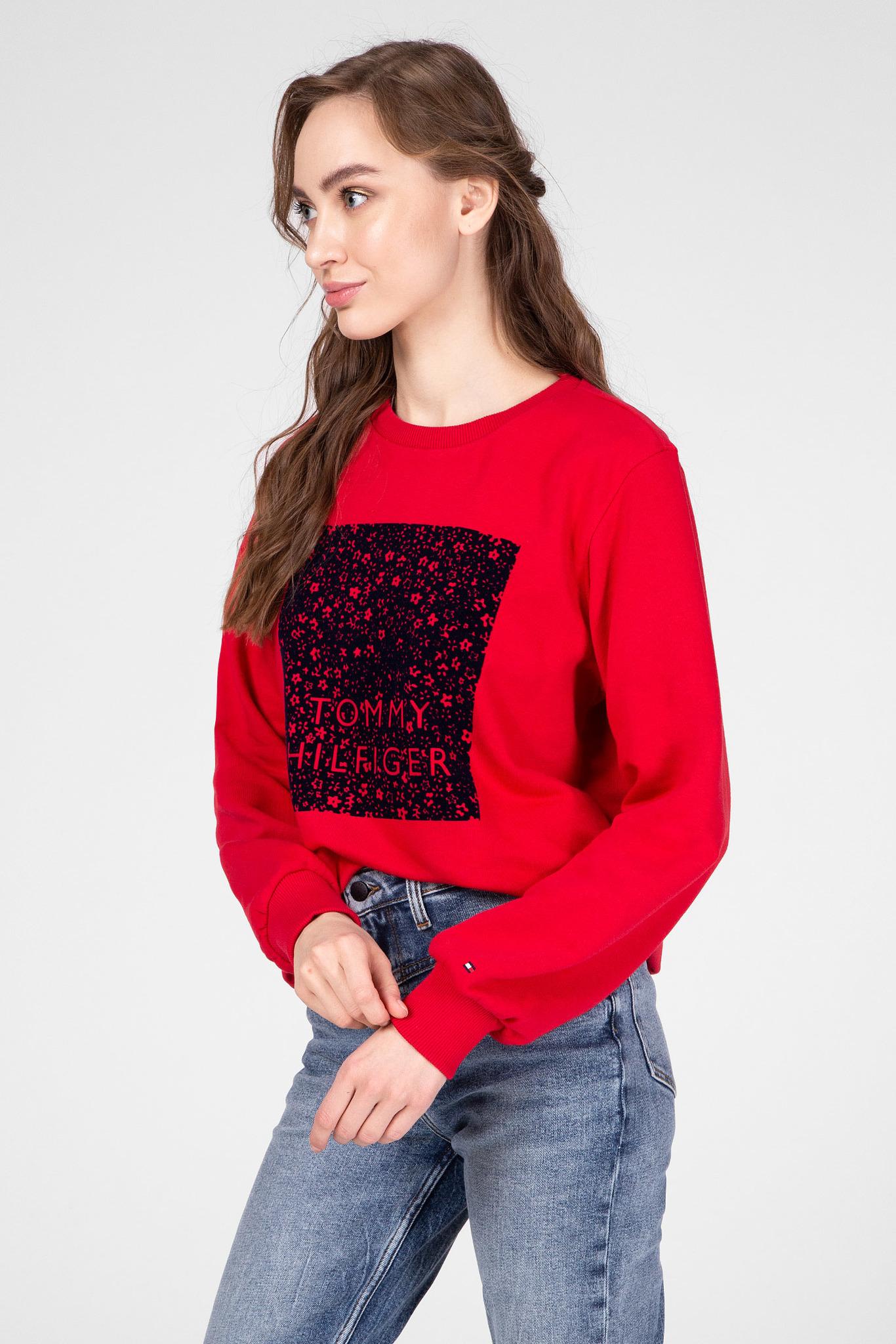 Женский красный свитшот STACY Tommy Hilfiger