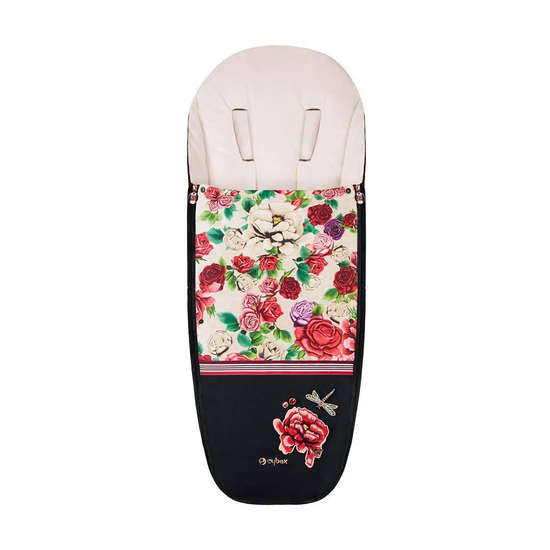 Теплые конверты для коляски Cybex Теплый конверт в коляску Cybex Priam Footmuff Spring Blossom Light Cybex-Footmuff---Spring-Blossom---Light.jpg