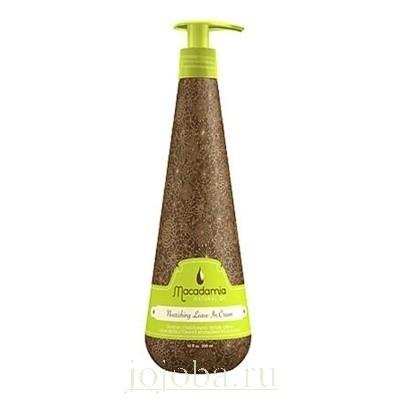 Macadamia Natural Oil: Кондиционер несмываемый с маслом арганы и макадамии (Nourishing Leave-in Cream)