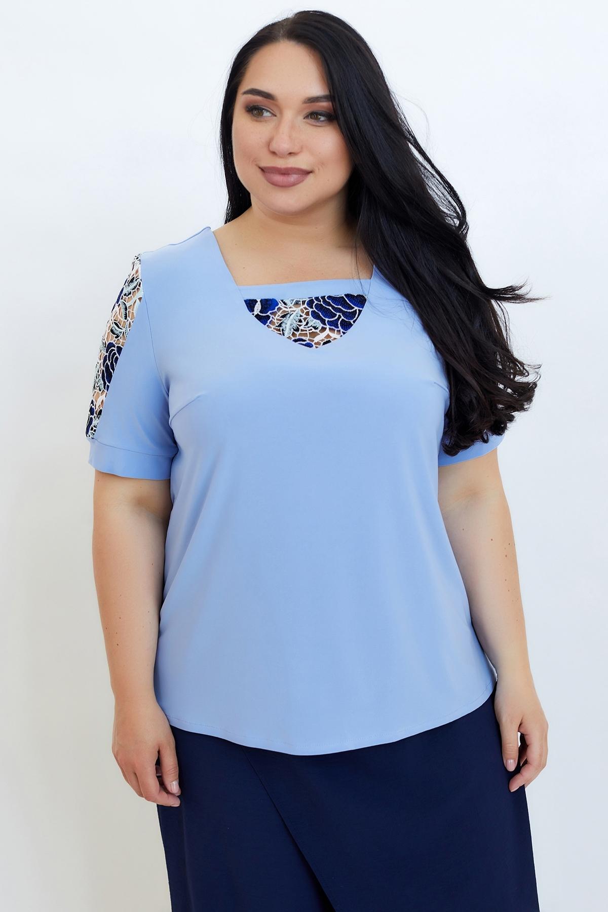 Блуза Дейзі (Дейзи) (блакитний)