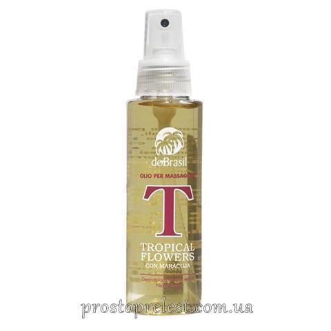 Dobrasil olio per massaggio «tropical flowers» - Массажное масло «Тропические цветы»