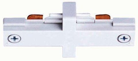 Прямой коннектор белый