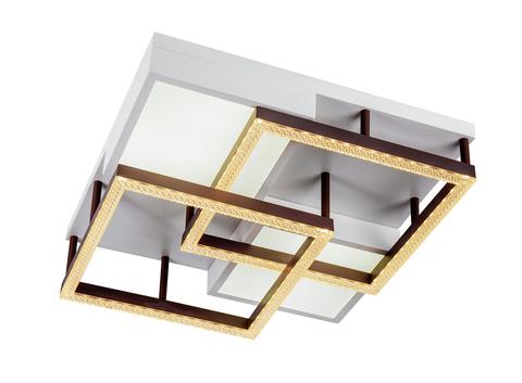 Потолочный светильник Escada 10212/4 LED*90W White/Coffee
