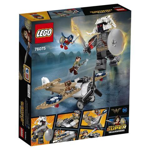 LEGO Super Heroes: Битва Чудо-женщины 76075 — DC Wonder Woman Warrior Battle — Лего Супергерои