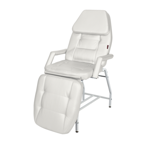 Косметологическое кресло Релакс цвет белый
