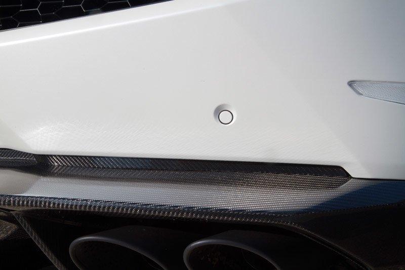 Карбоновые рамки диффузора Novitec Style для Lamborghini Huracan