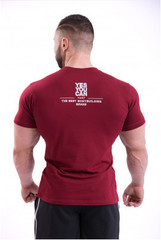Мужская футболка Nebbia 396 red