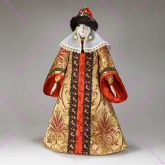 Интерьерная кукла в княжеском наряде
