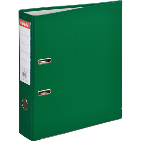 Папка-регистратор Esselte Economy 75 мм зеленая