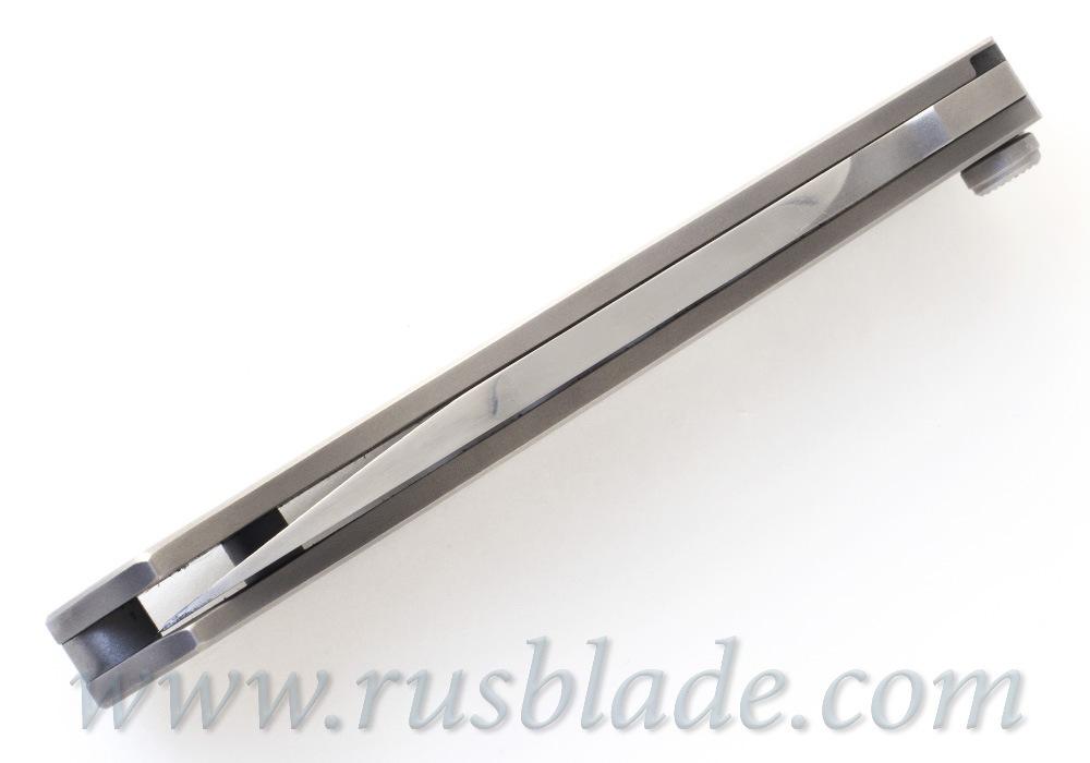 Custom Urakov Pancho Villa M390 knife - фотография
