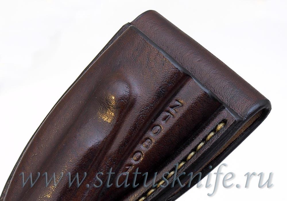 Чехол кожаный коричневый ZT 0801 - фотография