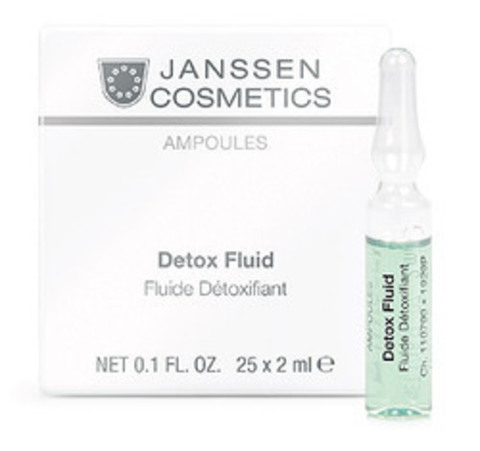 Детокс-сыворотка в ампулах, Janssen Cosmetics, 7 x 2 мл