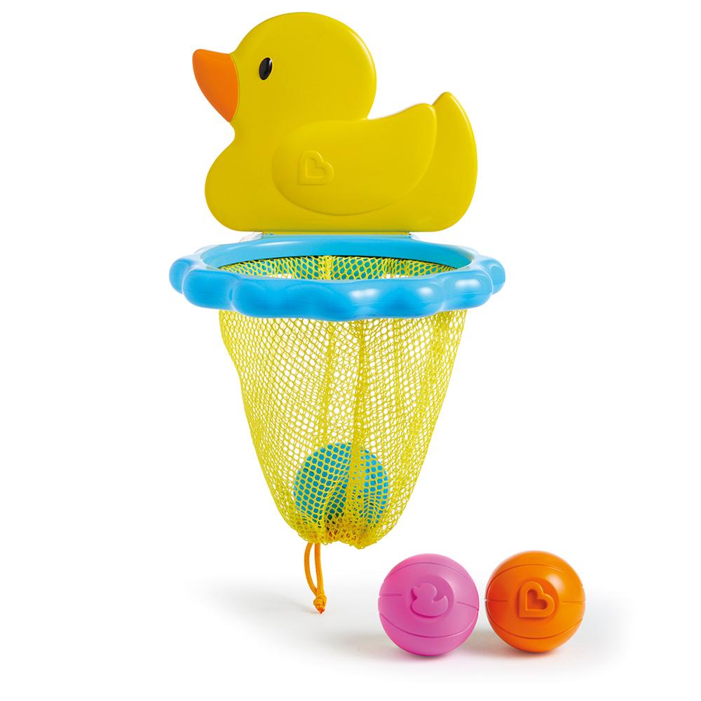 Munchkin игрушки для ванны Баскетбол Утка