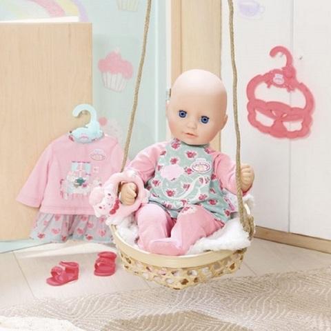 Беби Анабель Кукла 36 см с дополнительным набором одежды