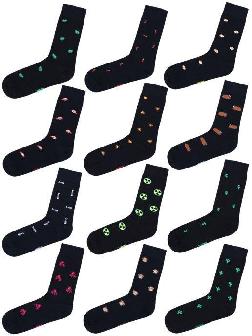 Набор Черных носков 12-22