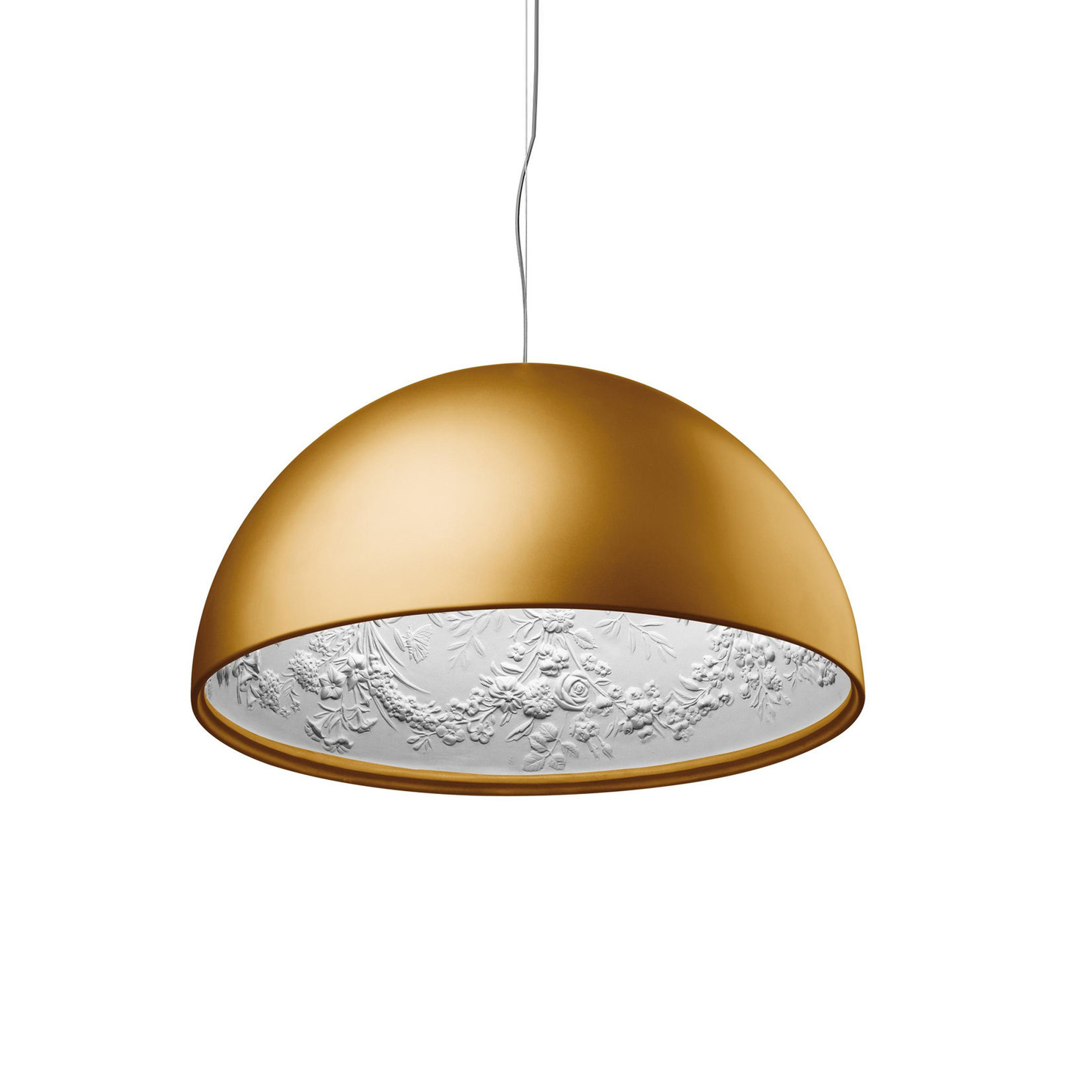 Подвесной светильник копия Skygarden by Flos D42 (золотой)