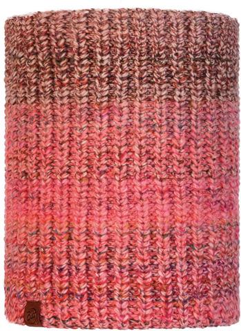 Вязаный шарф-труба с флисом Buff Neckwarmer Knitted Polar Olya Dune фото 1