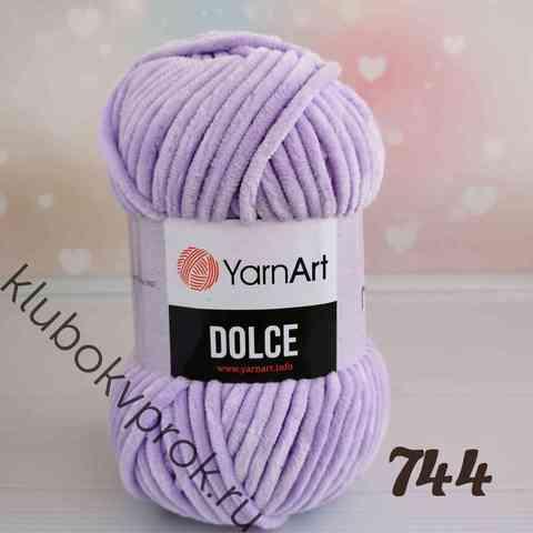 YARNART DOLCE 744, Сиреневый