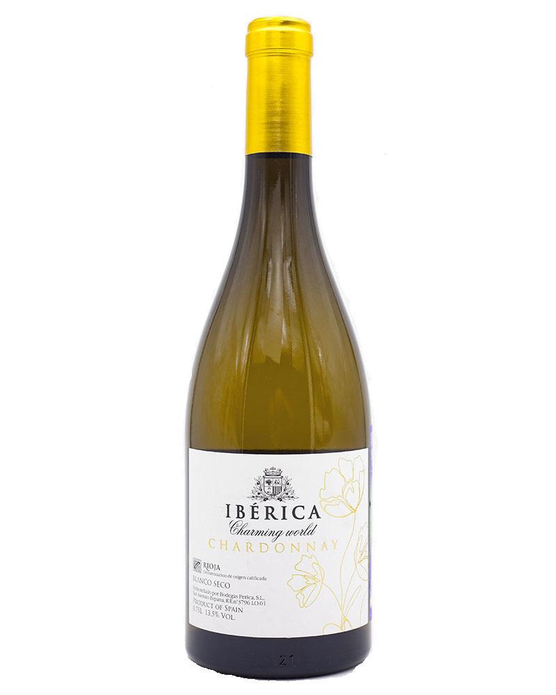 Вино Iberica Чарминг Ворлд Белое Сухое Шардоне 13,5%, 0,75л.