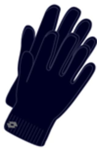 Перчатки трикотажные LOTTO RIB GLOVE TOD Q1215 схема