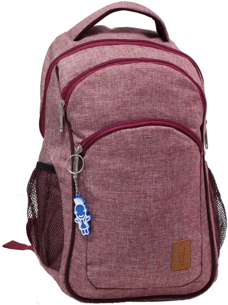Городские рюкзаки Рюкзак Bagland Лик Меланж 19 л. Бордовый (0055769) e68f3b22e1aa6beb3d6af5100b3d6c03.JPG