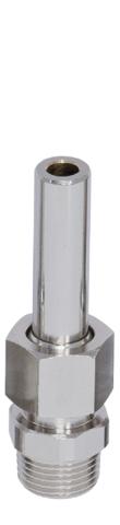 Одноструйная фонтанная насадка Smooth Bore Jet MS 0508, ½