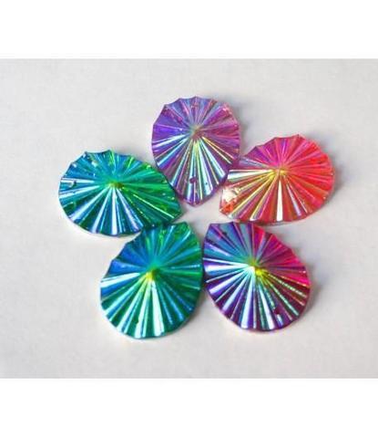 139 стразы капли разноцветные 5 шт