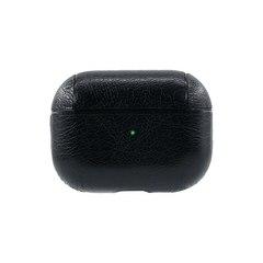 Чехол для Airpods Pro под кожу Protective Case (Черный)