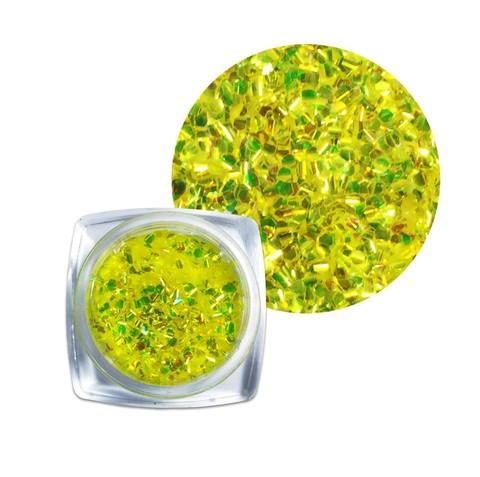Чешуя для дизайна желтая купить за 150руб