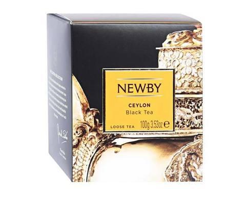Чай черный листовой Newby Heritage Ceylon, 100 г