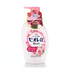 Жидкое мыло для тела Kao для всей семьи аромат ангельской розы 480 мл