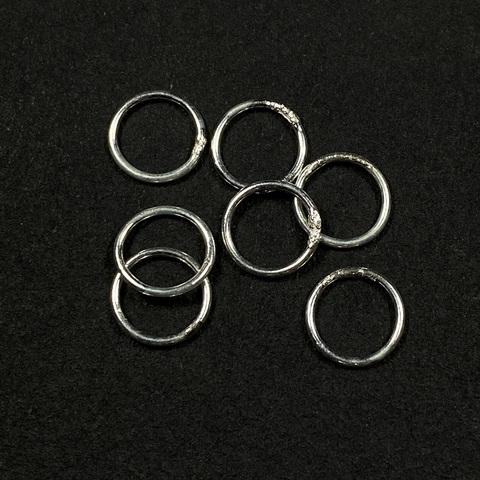 Колечко закрытое 8 мм серебро 925