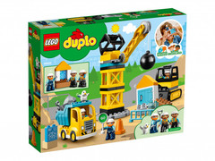 Lego konstruktor Duplo Wrecking Ball Demolition