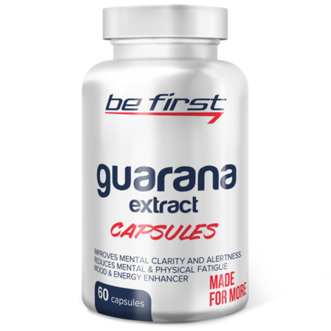Be First Guarana extract Экстракт гуараны 60 капсул