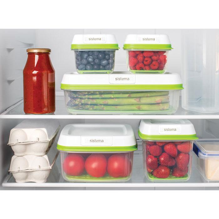 """Контейнер пищевой Sistema """"FreshWorks"""" 2,6 л"""