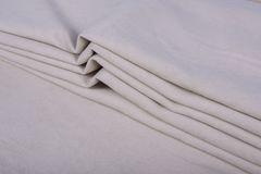 Штора готовая однотонная из портьерной ткани | цвет: кремовый