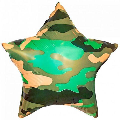 Звезда Камуфляж милитари, 45 см