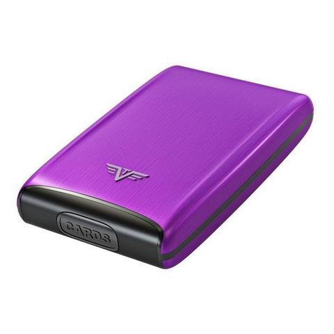 Визитница c защитой Tru Virtu Razor, лиловый , 104x68x20 мм