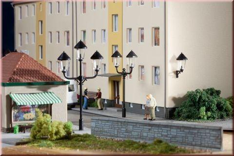 Парковые фонари и бра - 6шт, (H0/TT)