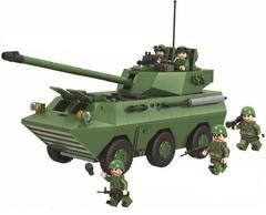 Конструктор Танковое сражение Самоходная артустановка