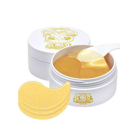 Гидрогелевые патчи для глаз  Elizavecca Milky Piggy Hell-pore Gold Hyaluronic Acid Eye Patch 60 шт
