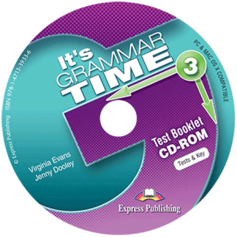 It's GRAMMAR TIME 3 Test booklet CD-ROM