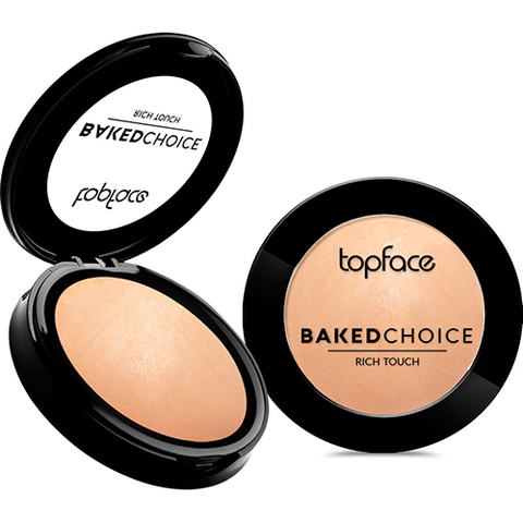 TopFace Пудра Baked Choice Rich Touch  Powder тон 002- PT701(10г)