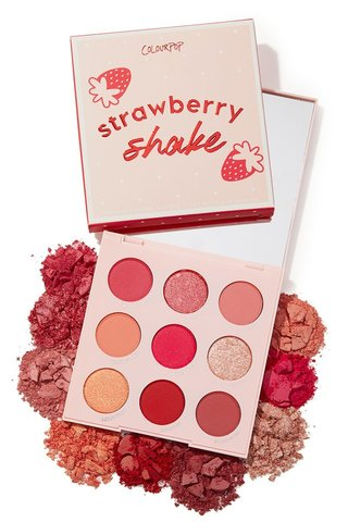 ColourPop Strawberry Shake palette