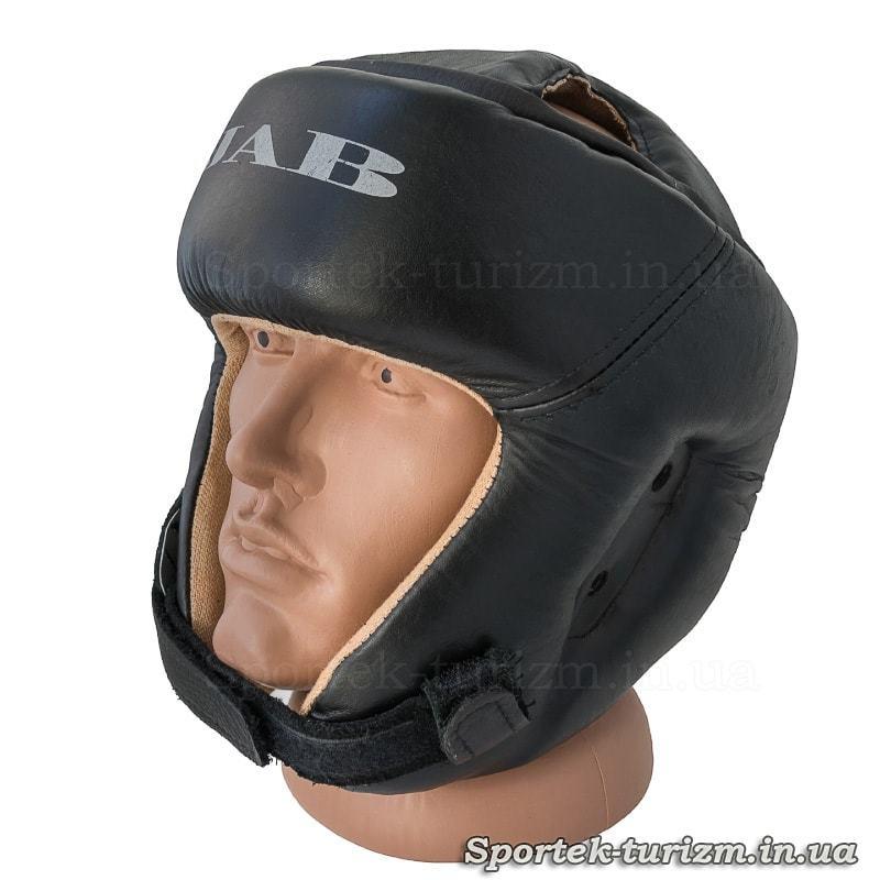 Захисний шолом для карате JAB шкіряний