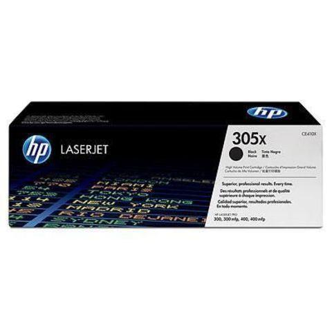Оригинальный картридж HP CE410X (№305X), чёрный